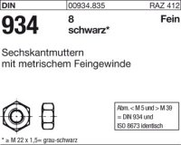 Sechskantmuttern M12x1