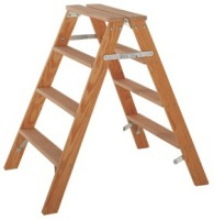 Trittleiter Holz holz montagebock gipserbock 2x2 stufen länge 0 48 m bei
