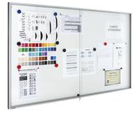 Legamaster Schaukasten PREMIUM Whiteboard für den Innenbereich, 15x DIN A4