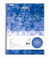 Landré Collegeblock College A4+80 Blatt, 70 , 4x gelocht, liniert