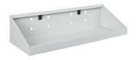 Produktbild - perfo Ablageschale M1 BxTxH: 450x170x105/30mm RAL 7035