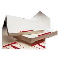 ACCO Boîte de 50 attaches plastique pour archivage CAPICLASS 1, pour documents perforés