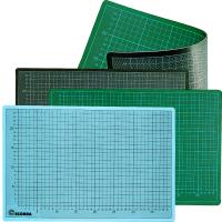 Normalansicht - Ecobra Schneidematte Profi-Cuttings-Mat 600 x 450 mm grün/schwarz