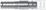 Detailansicht: Steckerabmessungen