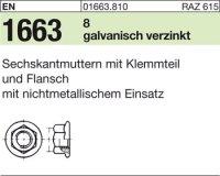 Sechskantmu. m.Flansch M8