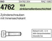 ISO4762 M6 x 14 mm Stahl zinklamellenbeschichtet 10.9
