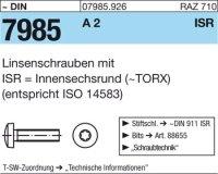 Linsenschrauben M2,5x10-T8