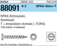 ABC SPAX S Screw 5 mm x 40/34 mm
