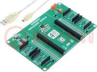 Bővítő kártya; CAN, UART; A készletben: prototípus lemez