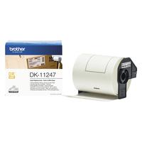 BROTHER Rouleau 180 étiquettes prédécoupées Noir/Blanc 103,6x164,30mm DK11247