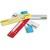 DURABLE Sachet 25 Relieurs FLEXI languette métallique/serreur plastique - L150 x l38 mm - Assortis