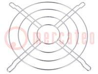 Haube; 120x120mm; Mat: Metall; Befestigung: Schraube