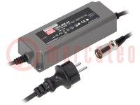 Tápegység: impulzusos; LED; 90W; 24VDC; 3,75A; 90÷264VAC; IP67; 920g