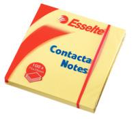 Haftnotiz Contacta-Notes, 75x75 mm, 100 Blatt, gelb