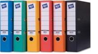 HIT office Pořadač pákový ( šanon ) A4 5 cm oranžový prešpan