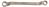BRONZEplus Doppel-Ringschlüssel gekröpft 46x50 mm