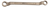 "BRONZEplus Doppel-Ringschlüssel gekröpft 1.3/4x2.1/16"""