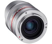 Samyang 8mm F2.8 UMC Fish-eye II SLR Weitwinkel-Fischaugenobjektiv Silber