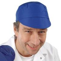 """Artikelbild: Schildmütze mit """"AF""""Oberteil royalblau"""
