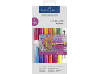 Gelatos aquarelkrijt Faber-Castell 15-delig felle kleuren