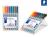 Lumocolor® non-permanent pen 315 Non-permanent Universalstift M STAEDTLER Box mit 8 sortierten Farben