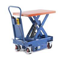 Podnośny wózek platformowy, elektryczny