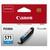 CANON Cartouche Jet d'encre CLI-571 Cyan 0386C001AA
