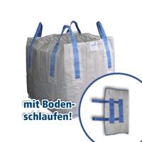 """BigBag 90 x 90 x 90 cm, 1.500 kg, + 2 Bodenschlaufen Typ Stein """"BS"""""""