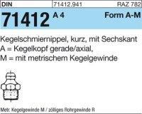 Kegelschmiernippel AM10x1SW11