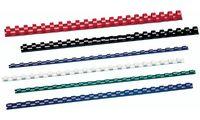GBC Plastikbinderücken CombBind, DIN A4, 14 mm, schwarz (5928178)