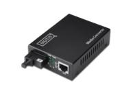 Digitus DN-82123_060 netwerk media converter 1000 Mbit/s 1550 nm Zwart