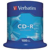 Verbatim CD-R 52x 700 mb 100 stuks