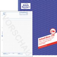 Aufmaßskizze, SD, DIN A4, 50 Blatt
