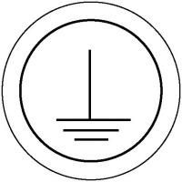 Kennzeichnung an Betriebsmitteln Schutzleiter, Folienetiketten, 1,25 cm