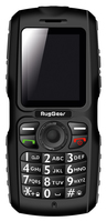 De RugGear RG100 is een zeer robuuste mobiele telefoon waarmee uw klant zelfs onder de meest extreme omstandigheden bereikbaar blijft.