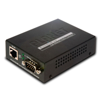 Planet ICS-100 Netzwerk Medienkonverter 100 Mbit/s Schwarz