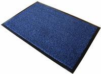 Floortex Door Mat Dust and Moisture Control Polypropylene 600mmx900mm Blue