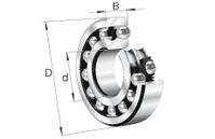 FAG 1222-M-C3 Pendelkugellager 200 / 110 x 38 mm