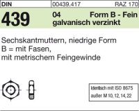 DIN439 BM14x1,5