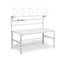 Packtisch TRESTON Packtisch, höhenverstellbar (108-155 cm), Tischplatte: 180 x 9