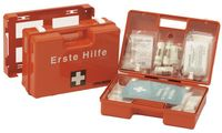 LEINA Erste-Hilfe-Koffer MAXI, Inhalt DIN 13157, orange (8921091)