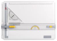 Geo Board Zeichenplatte A3, Schnellzeichendreieck, im Karton