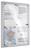 Legamaster Schaukasten ECONOMY Whiteboard für den Innenbereich, 4x DIN A4