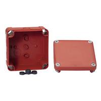 Mureva BOX, Sicherheitsabzweigdose, Drückplatte, 105x105x55mm