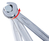 DUO GEARplus Ratelringsteeksleutelset met ratelfunctie, omschakelbaar 22mm
