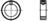DIN 705 Stellringe, Form A mit Gewindestift DIN 553 25mm HP
