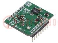 Click board; rookdetectors; I2C; MAX30105; mikroBUS-stekker