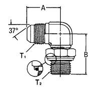 AEROQUIP GG306-NP10-12 Adaptor