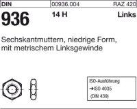 Sechskantmuttern M8-LH