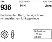Sechskantmuttern M14-LH